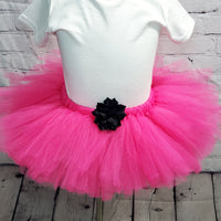 Hot Pink Fluffy Tulle Tutu Skirt