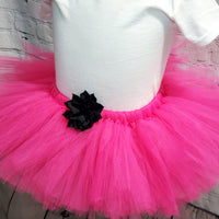Hot Pink Fluffy Tutu Skirt