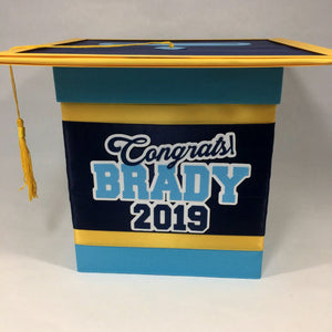 Handmade Graduation Gift Card Box