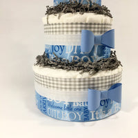 Its a Boy Diaper Cake Centerpiece