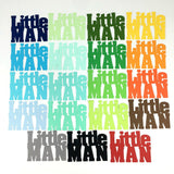 Little Man Word Cutouts