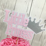 Little Princess Cake Topper - Pink
