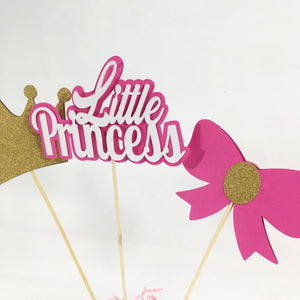 Little Princess Centerpiece Sticks - Pink