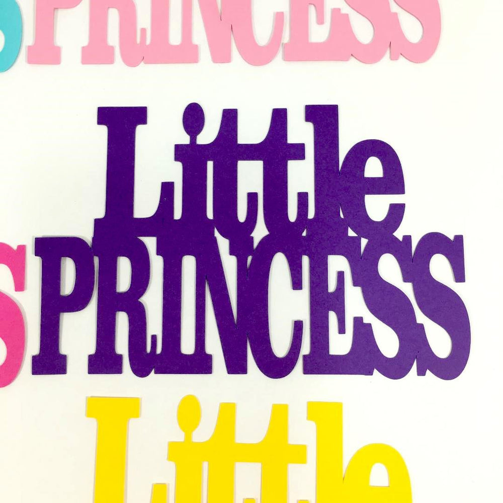 Little Princess Paper Cutouts
