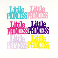 LIttle Princess Word Cutouts