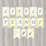 Little Peanut Baby Shower Decoration Pack - Yellow