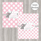 Little Peanut Candy Bar Labels - Pink