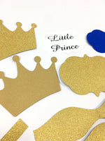 Little Prince Diaper Cake Kit - Royal Blue & Gold