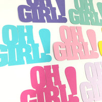 Oh Girl Paper Cutouts