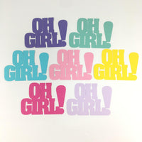 Oh Girl Paper Cut Outs