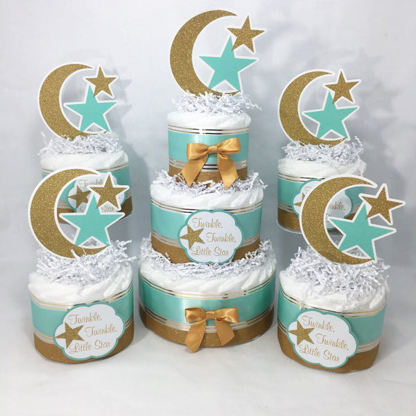Twinkle, Twinkle, Little Star Diaper Cake Set