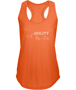 Dog Agility Ladies Racer-Back Vest Top