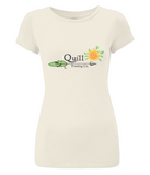 Quill Trading Spring Floral Ladies Slim-Fit T-Shirt