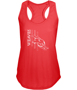 Dog Agility Ladies Racer-Back Vest Top - Weaves