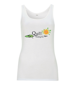Quill Trading Spring Floral Ladies Vest Top