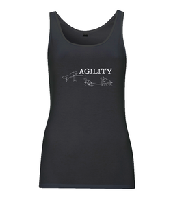 Dog Agility Ladies Vest Top
