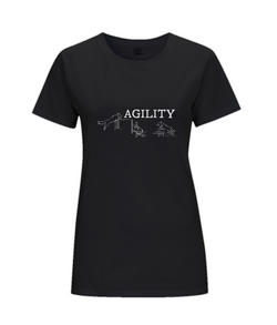 Dog Agility Ladies Regular Fit T-Shirt