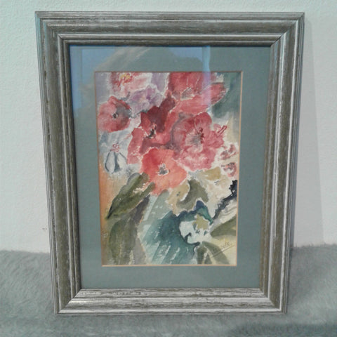 Original Ann Helliwell Framed Artwork