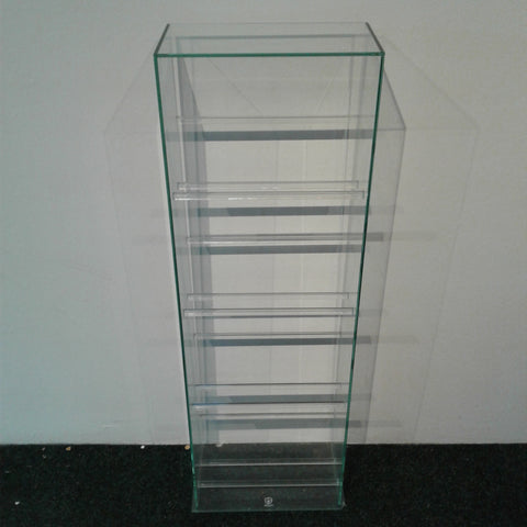 Glass DVD Rack