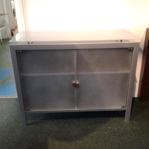 Glass Cabinet Sideboard/Storage Unit