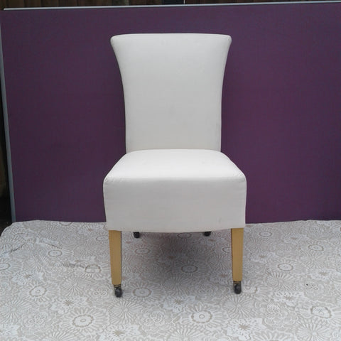 White Fabric Chair