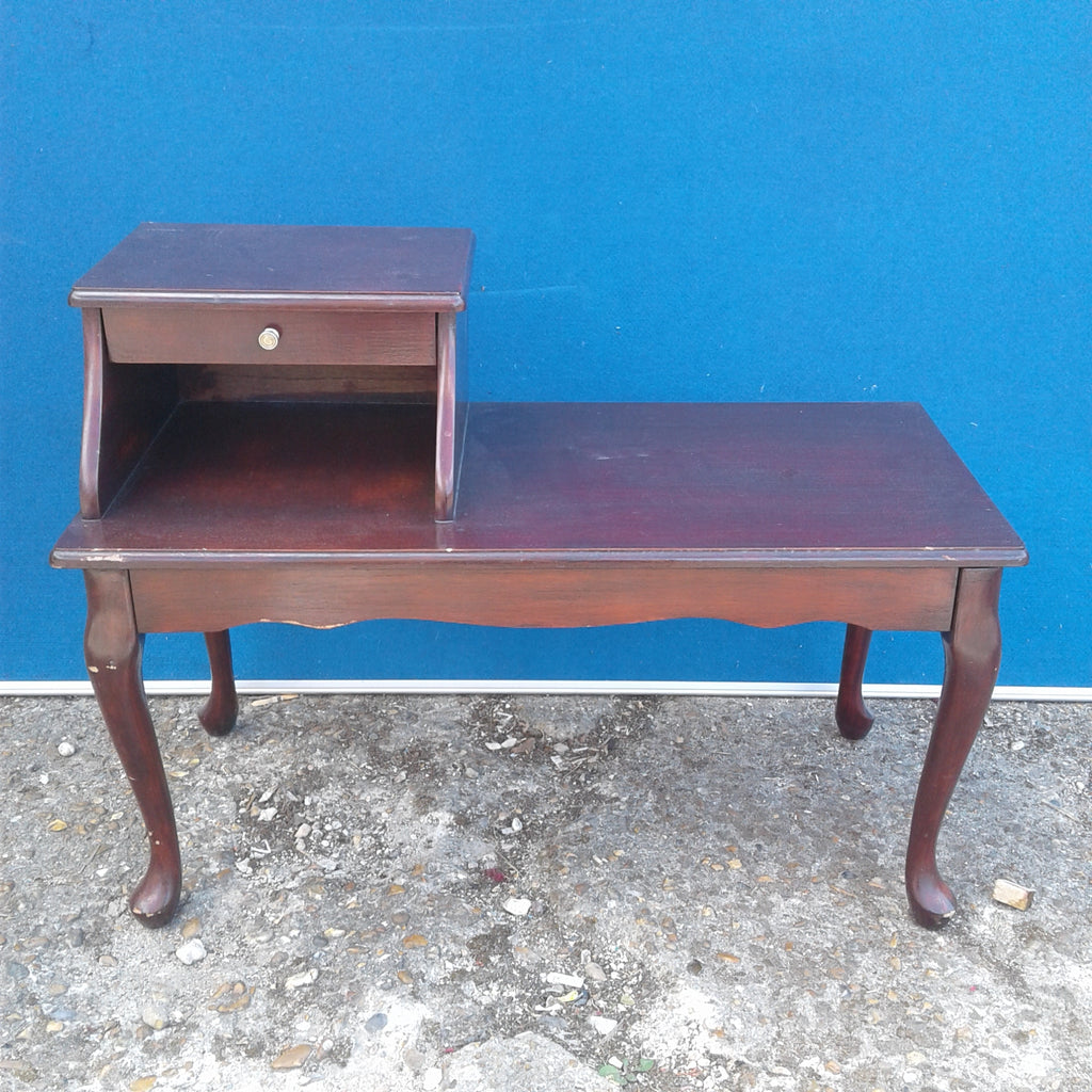 Telephone Table with Drawer