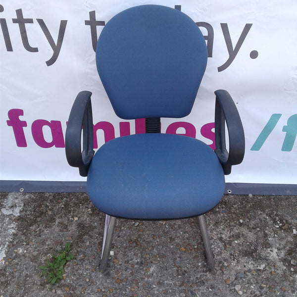 Blueberry Blue Office Chair