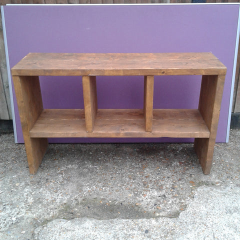 Rustic Solid Wood Display Unit