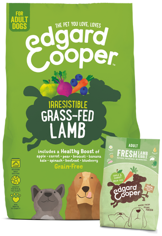 Fresh Grass Fed Lamb - with apple, carrot, beetroot & blueberry