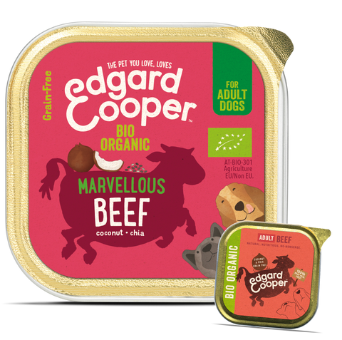 Organic Beef - with organic coconut & chia seeds