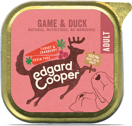 Game & Duck - with carrot and cranberry