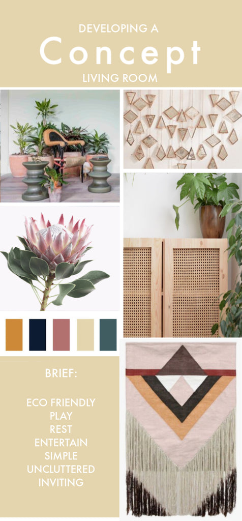 The Importance Of Mood Boards In Interior Design White Punch