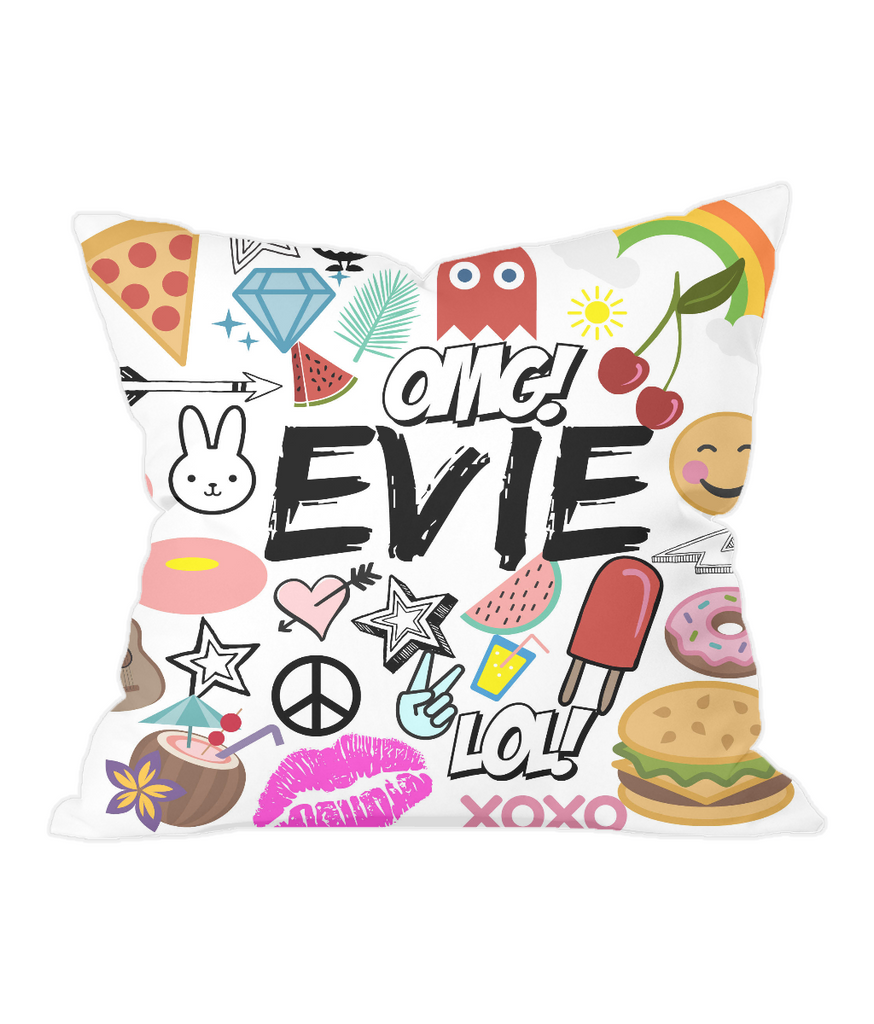 Customised Name Throw Cushion