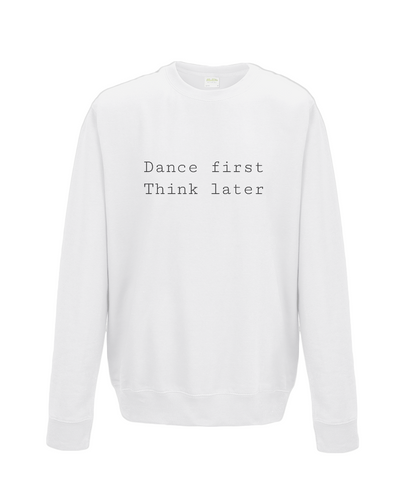 Kids Sweatshirt Dance First
