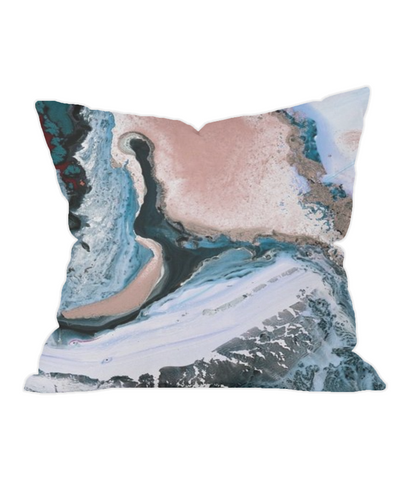 Marble Paint Throw Cushion