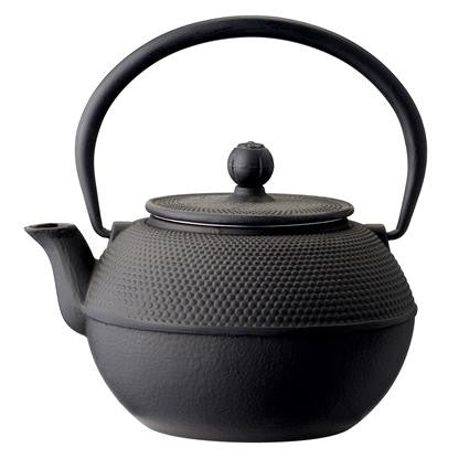 Black Iron Teapot