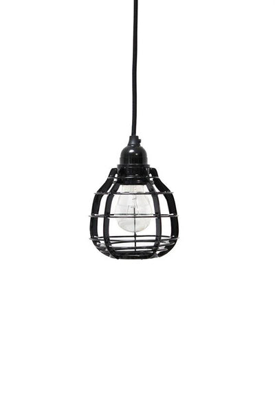 Black pendant lab lamp from HK Living buy from White Punch UK