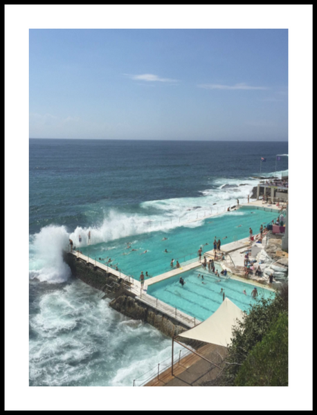 Bondi Beach Pool Print from White Punch