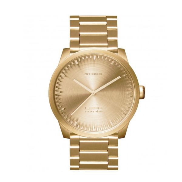 Tube Watch | Brass