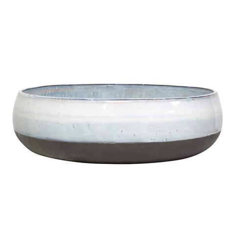 Stunning Extra Large glazed ceramic bowl from White Punch