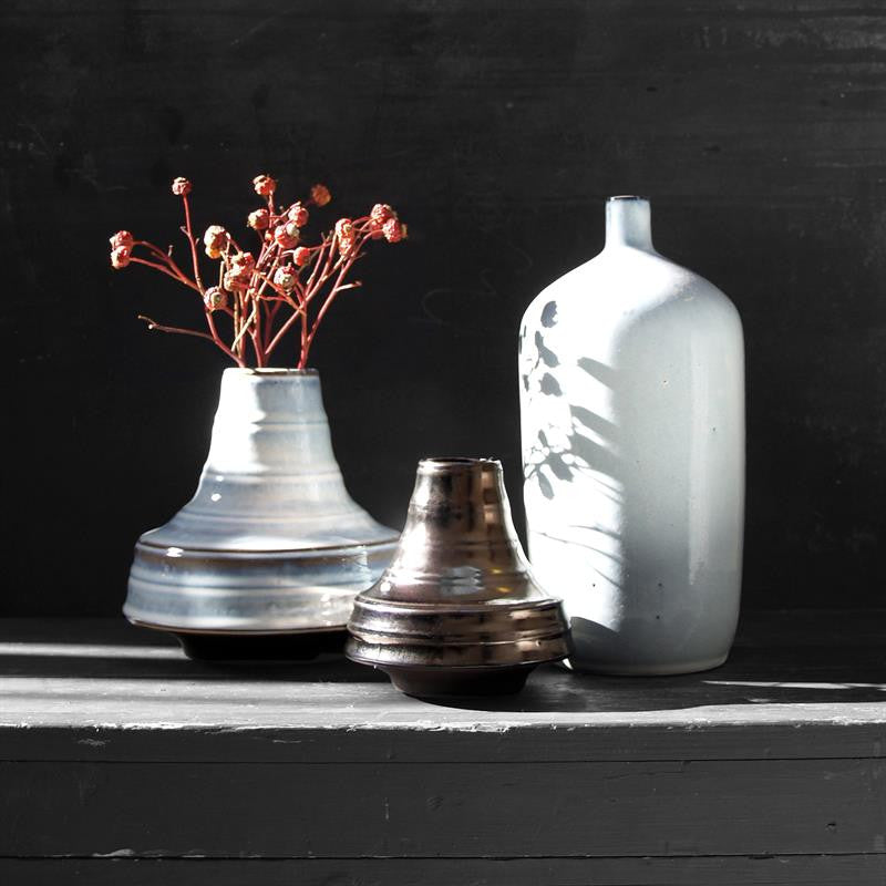 White Glazed Vase from HK Living buy at White Punch UK