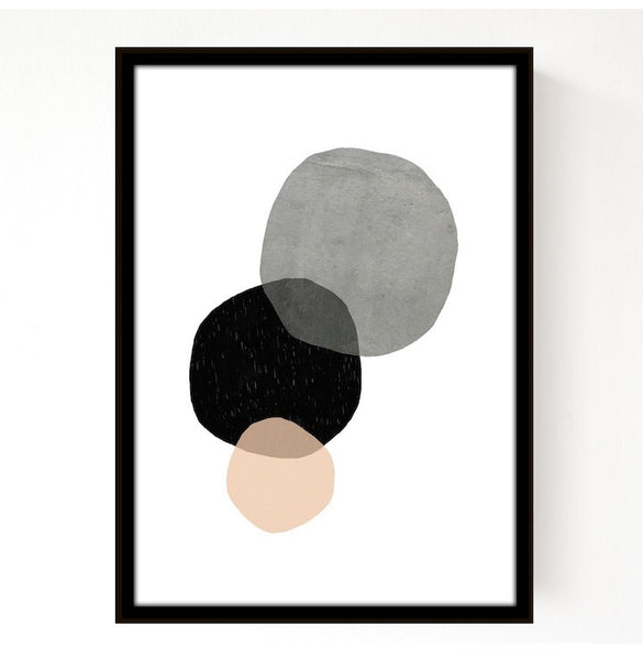 Circles Print by Seventy Tree