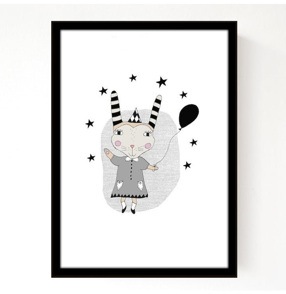 Circus Ruby Print by Seventy Tree