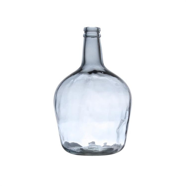 Glass bottle blue grey from HK Living