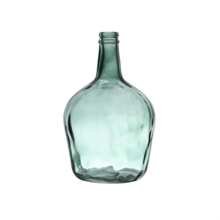Green 4 Litre Carafe Glass Bottle from HK Living