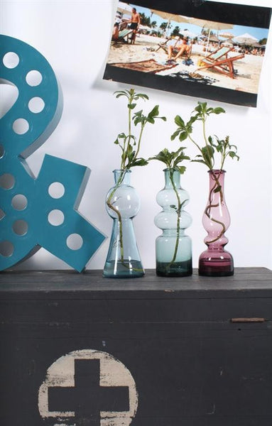 Smoke coloured vases from HK Living