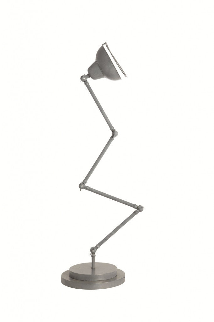 Grey industrial multi arm floor lamp from White Punch UK