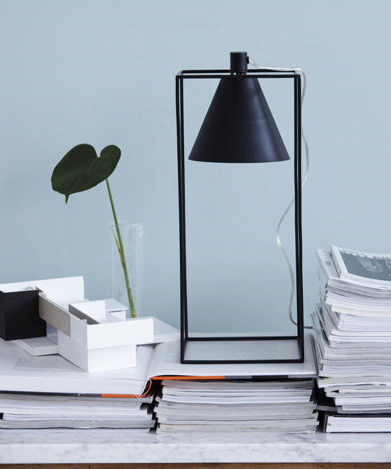 Kubix table lamp by House Doctor from White Punch UK