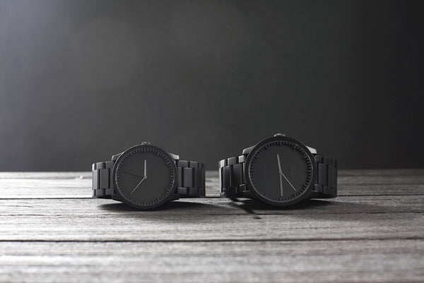 Leff Tube Watch Matt Black