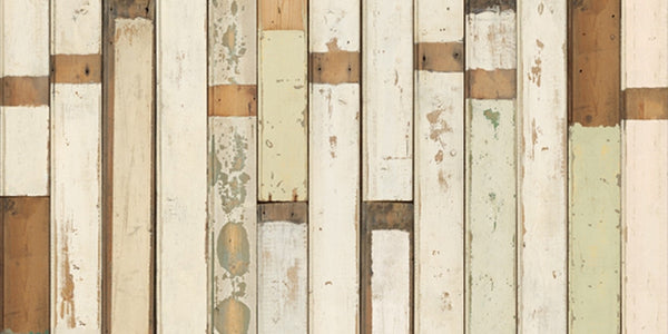 Scrap Wood Wall Paper 01 by Piet Hein Eek